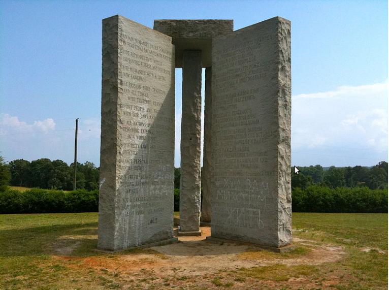 Georgia Guide Stones