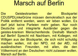 Marsch auf Berlin