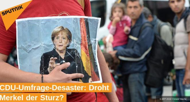 Droht Merkel der Sturz